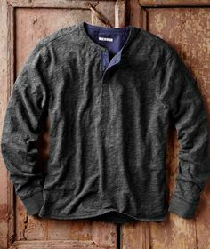 Upgrade your casual wear with jackets, shirts, sweaters, shoes & more that are effortlessly cool & always comfortable. Discover our collection featuring cotton and premium leather, rich textures & beautiful details for men & women. Fall Outfits, Casual Outfits, Men Casual, Herringbone Fabric, Mens Fall, Henley Shirts, New Wardrobe, Cobalt Blue, Dapper
