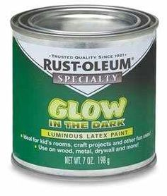 Use this on the planters to make them glow in the dark! - Rust-Oleum Glow-In-The-Dark Brush-on Paint - BLICK art materials paint on glass light replacement ball shaped covers turn upside down in lawn or in planter. Outdoor Projects, Garden Projects, Diy Projects, Garden Ideas, Garden Fun, Garden Path, Glow Paint, Glow In Dark Paint, Glitter Paint