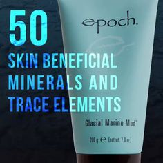 A skin-purifying estuary treasure. Draw out impurities, remove dead skin cells, and nurture skin with more than 50 skin beneficial minerals, including zinc and sea botanicals. Epoch Mud Mask, Marine Mud Mask, Galvanic Body Spa, Glacial Marine Mud, Beauty Magazine, Skin Treatments, Videos, Nu Skin Mud Mask, Beauty