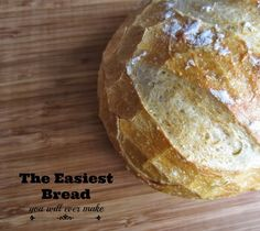 No kneed bread recipe anyone can make! Also makes a great pizza crust!| Renee's Kitchen Adventures