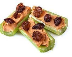 "Celery ""Nut-Butter Boats"""