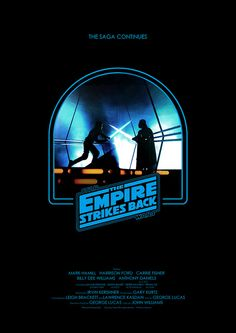 Star Wars: Episode V - The Empire Strikes Back - Minimal Movie Poster by Owain Wilson Star Wars Film, Star Wars Poster, Star Wars Art, Star Trek, Harrison Ford, Starwars, The Blues Brothers, Star Wars Design, The Force Is Strong