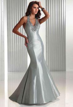 92 best Gowns Silver images on Pinterest | Dress wedding, Alon livne ...
