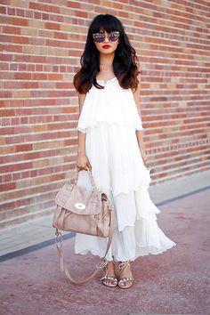 Summer Pleats (by Olivia Lopez) http://lookbook.nu/look/3894372-Summer-Pleats