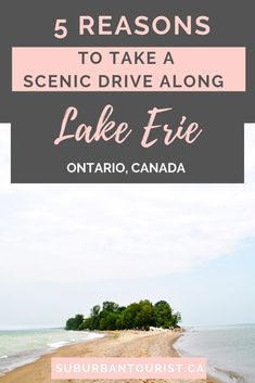 For a different kind of day trip from Toronto, head west, doing a drive along Lake Erie. Read about the ports, beaches, dining and other activities you can do along the way. Beaches In Ontario, Alberta Travel, Paradise Falls, Ontario Travel, Beach Trip, Beach Travel, Lake Erie, Canada Travel, Along The Way