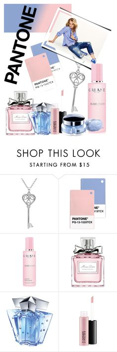 """""""Pantone Color of the Year 2016"""" by heidi-hendrickson ❤ liked on Polyvore featuring beauty, Amanda Rose Collection, Maison Scotch, Orlane, Christian Dior, Thierry Mugler and MAC Cosmetics"""