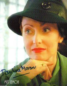 Pauline Moran Poirot Miss Lemon Signed Photograph.