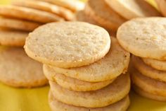 Meyer Lemon and Black Pepper Cookies