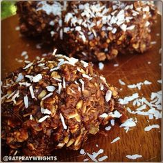 Ripped Recipes - Chocolate Banana Macaroons - An old family favorite with a healthy twist!