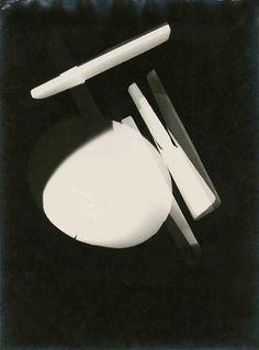 László Moholy-Nagy, Untitled (Photogram), Dessau…
