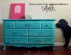 You're Never Fully Dressed Without A Smile – Wall Decal