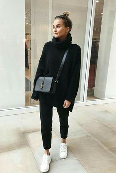 Black Joggers Outfit Gallery voguenouvelle in 2019 fashion athleisure fashion fall Black Joggers Outfit. Here is Black Joggers Outfit Gallery for you. Black Joggers Outfit missguided black loopback cargo joggers in 2019 outfits. Athleisure Fashion, Athleisure Outfits, Sporty Outfits, Mode Outfits, Fall Outfits, Fashion Outfits, Woman Outfits, Cold Winter Outfits, Autumn Outfits Women