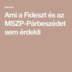 Ami a Fideszt és az MSZP-Párbeszédet sem érdekli