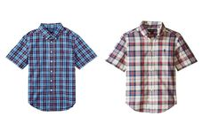 Ralph Lauren Little Boys' Plaid Short Sleeve Shirt #RalphLauren #Everyday