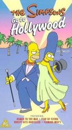Simpsons Go to Hollywood video