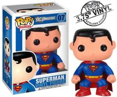"Funko DC POP HEROES SUPERMAN 3.75"" VINYL FIGURE MINT!!"