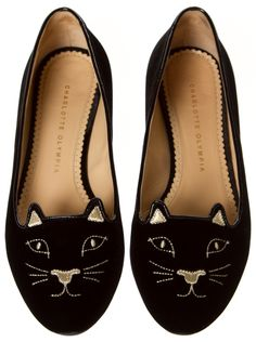 Charlotte Olympia Flats @Michelle Coleman-HERS