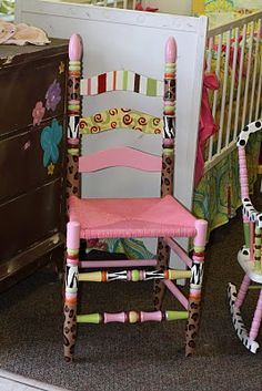 Crazy chair.