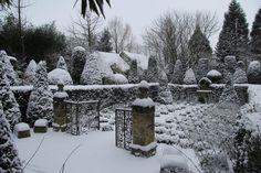 Winter at les jardins Agapanthe, Normandy