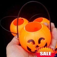 $6.54 12CM Pumpkin Pot Light Halloween Decoration in Excellent Design (5 in Box)