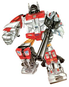 Superion G1 toy box art.