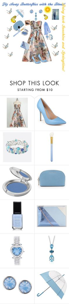 """""""Sunshine & Springtime"""" by harts2raines ❤ liked on Polyvore featuring Chi Chi, Journee Collection, Avenue, MAC Cosmetics, T. LeClerc, MICHAEL Michael Kors, Whistles, Corum, Blue Nile and Lonna & Lilly"""