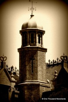 A different view of Disney's Haunted Mansion
