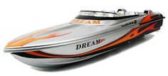 LARGE Electric Luxury Dream Z Speed Boat High Speed Large RTR RC Boat Extremely Fast High Speed Remote Control Boat