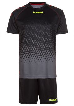 Hummel REBEL TRAINING SET - Teamwear - black - Zalando.de #HU342D009-Q11 #Hummel #null #schwarz #schwarz #black #fußball #handball #laufen #fitness - Handball spielen - Handball spielen