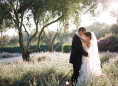 bride & groom & beautiful landscape - Jessica Claire