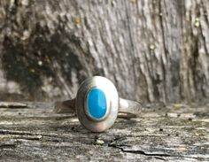 Vintage .925 Sterling Silver, Turquoise Stone, Size 2 3/4 Child/Woman's Ring. by VintageNprints on Etsy https://www.etsy.com/listing/536311399/vintage-925-sterling-silver-turquoise