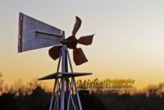 Sunsets are glorious sights to behold... windmills are fun too. Here we have both. Shot on a road trip to Kansas. Windmills, Sunsets, Wind Turbine, Kansas, Restoration, Road Trip, The Originals, Fun, Photography