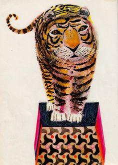 Brian Wildsmith's Circus - (1970) tiger