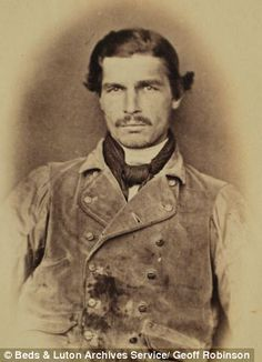 The First-Ever Mugshots 1859-1876 - Gallery