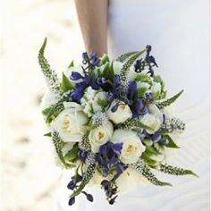 White Veronica Bouquets