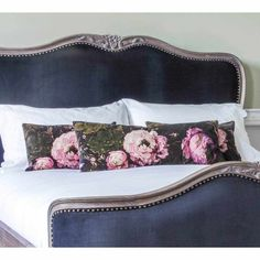 Floralism Cushions | Bedroom Cushion - Velvet French Bedroom Furniture