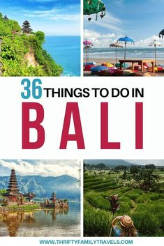 Heading to Bali? Check out this list of the 36 best things to do in Bali - including how to visit the attractions and how to get the best prices. Bali Travel Guide, Asia Travel, Travel Guides, Travel Tips, Travel Articles, Luang Prabang, All Family, Family Travel, Amazing Destinations