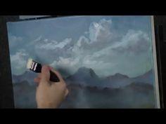 Oil Painting Free lesson, Blender Brush Tips - YouTube