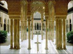 Alhambra - Granada, #Spain