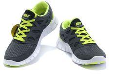 Vendre Pas Cher Free Run 2 Homme Chaussures Noire Grises Verte en ligne dans France - VendreFree.com