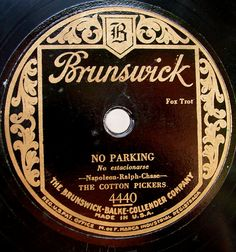 78 rpm Label
