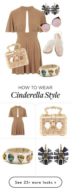 """""""Cute&Classy"""" by artriusedwards on Polyvore featuring Topshop, Nak Armstrong, Rachel Antonoff, Dolce&Gabbana and Fendi"""