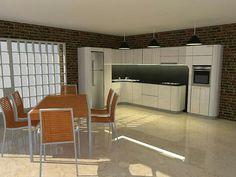 Diseño de cocina moderna1