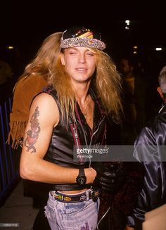 Bret Michaels of Poison circa 1990s.