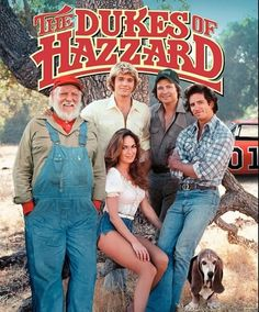 """Dukes of Hazard...Every Friday night @ 7 when we were little:) There's my """"old boyfriends,"""" Bo & Luke, too, btw--lol<3"""