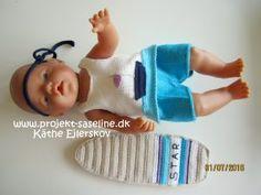 Baby born opskrifter. Dabesæt til drengen med surfebrædt