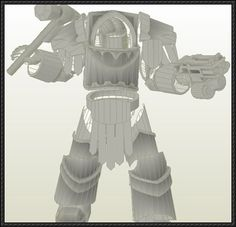 Warhammer 40K - Cataphractii Pattern Terminator Armour Free Papercraft Download - http://www.papercraftsquare.com/warhammer-40k-cataphractii-pattern-terminator-armour-free-papercraft-download.html