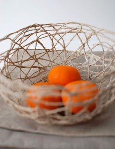 Le Frufrù: Porta frutta con lo spago