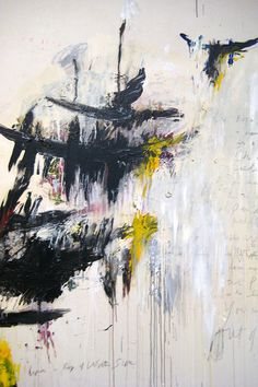 Cy Twombly - Art Experience - Abstract Expressionism - Winter (from The Four Seasons: Spring, Summer, Autumn, and Winter), Robert Rauschenberg, Action Painting, Painting & Drawing, Cy Twombly Paintings, Abstract Paintings, Abstract Art, Art Blanc, Foto Art, Museum Of Modern Art