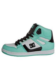 cfb991aabd REBOUND - Casual lace-ups - grün weiß schwarz   Zalando.co.uk 🛒. Zalando  Shop. Dc SneakersSneakers ...